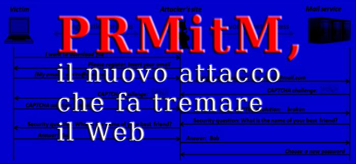 PRMitM, il nuovo attacco che fa tremare il Web