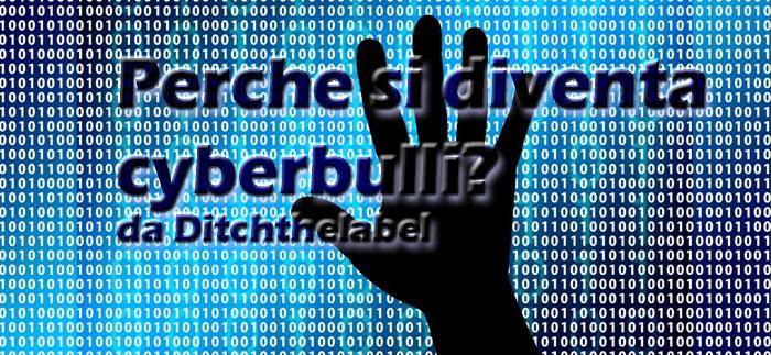 perchè cyberbullismo, ditchthelabel
