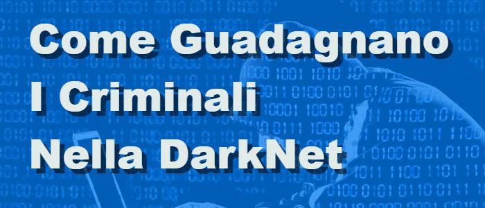 Cybercrimine – Come Guadagnano I Criminali Nella DarkNet