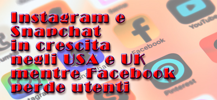 Facebook in calomin USA eUK presso gli utenti più giovani
