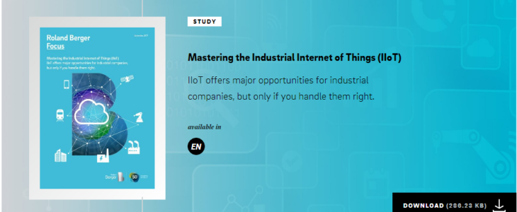 Come gestire l'Internet Industriale delle Cose (IIOT)
