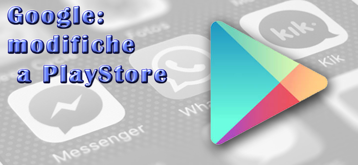 modifiche nuove a Play Store