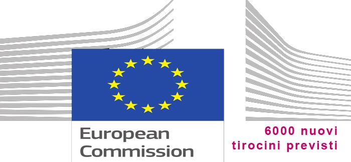 6000 tirocini commissione europea