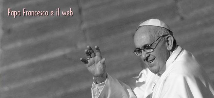Papa francesco: servono etica e spiritualità a chi naviga online