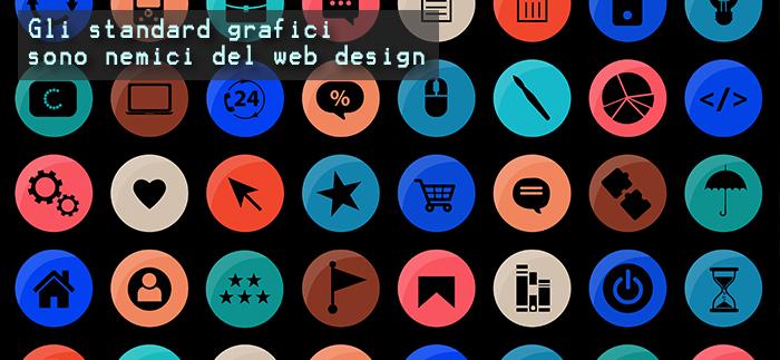 Rispettare gli standard impedisce il design creativo  dell'interfaccia grafica?