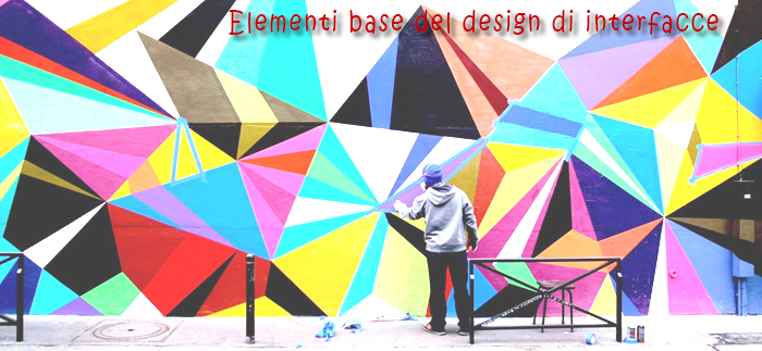 Elementi base del design di interfacce