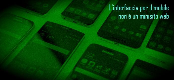 User experience per il mobile: si può fare di meglio