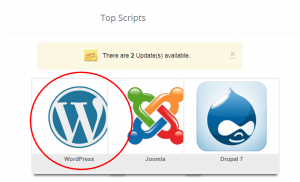 attivazione wordpress